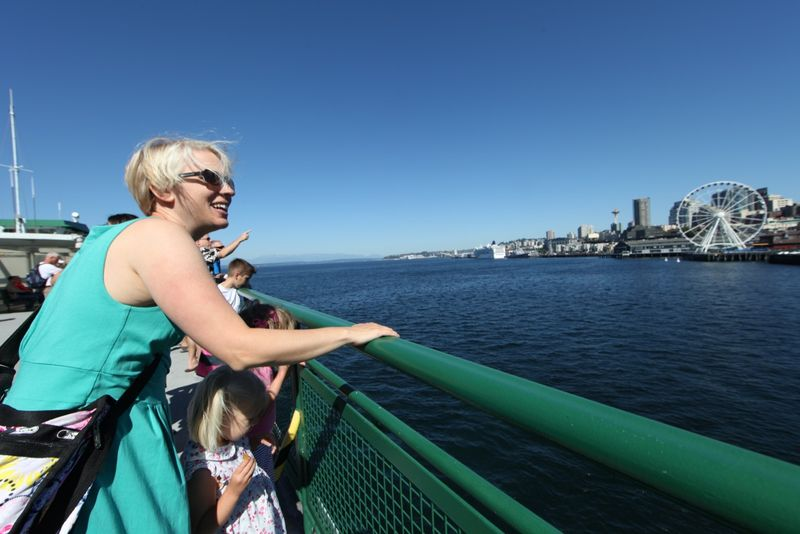 04 Ferry observation deck on a gorgeous day
